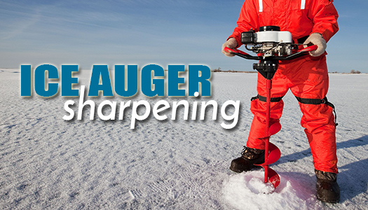 Ice Auger Blades – THE MOTOR SHOP